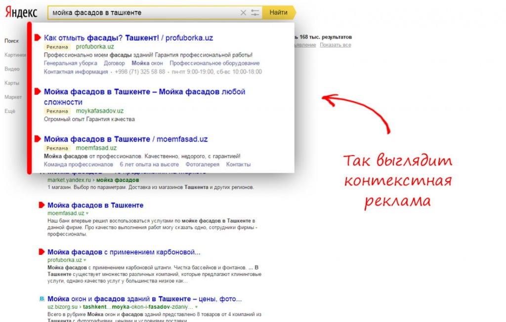 Контекстная реклама в ташкенте наружная реклама аналитика сайта